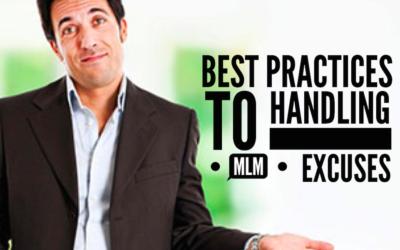 MLM Tips: Handling Network Marketing Excuses