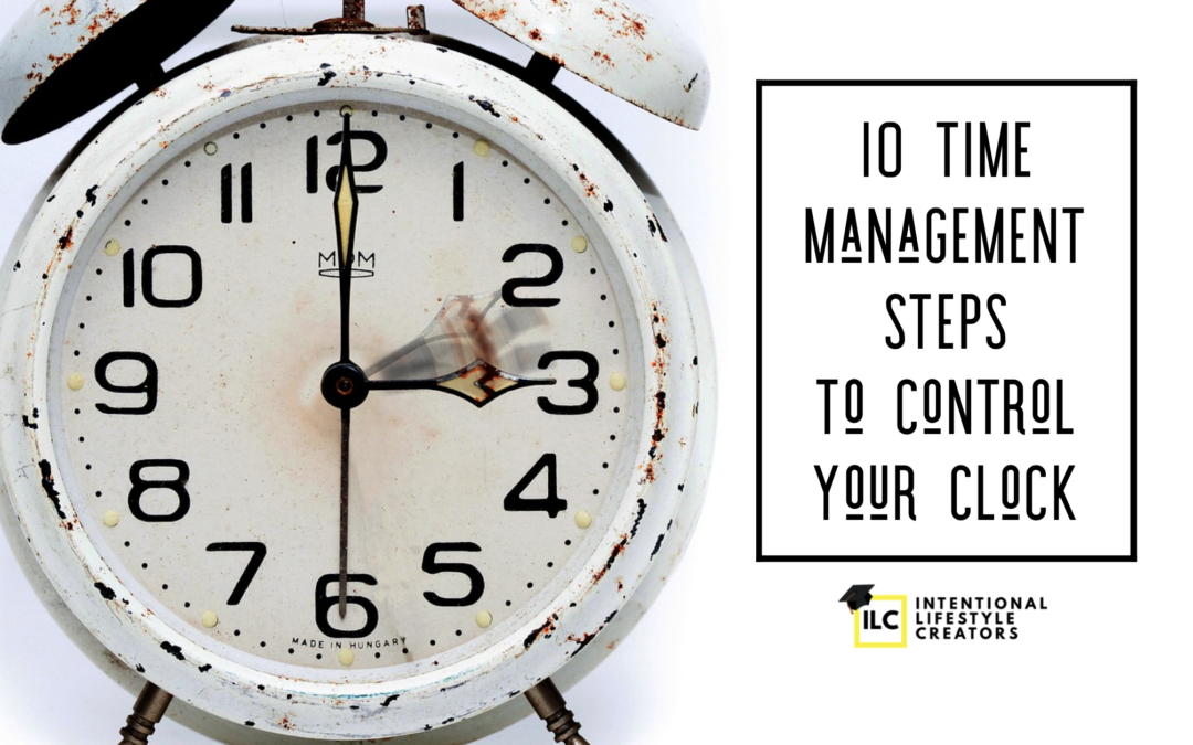 Time Management – 10 Steps To Control Your Clock