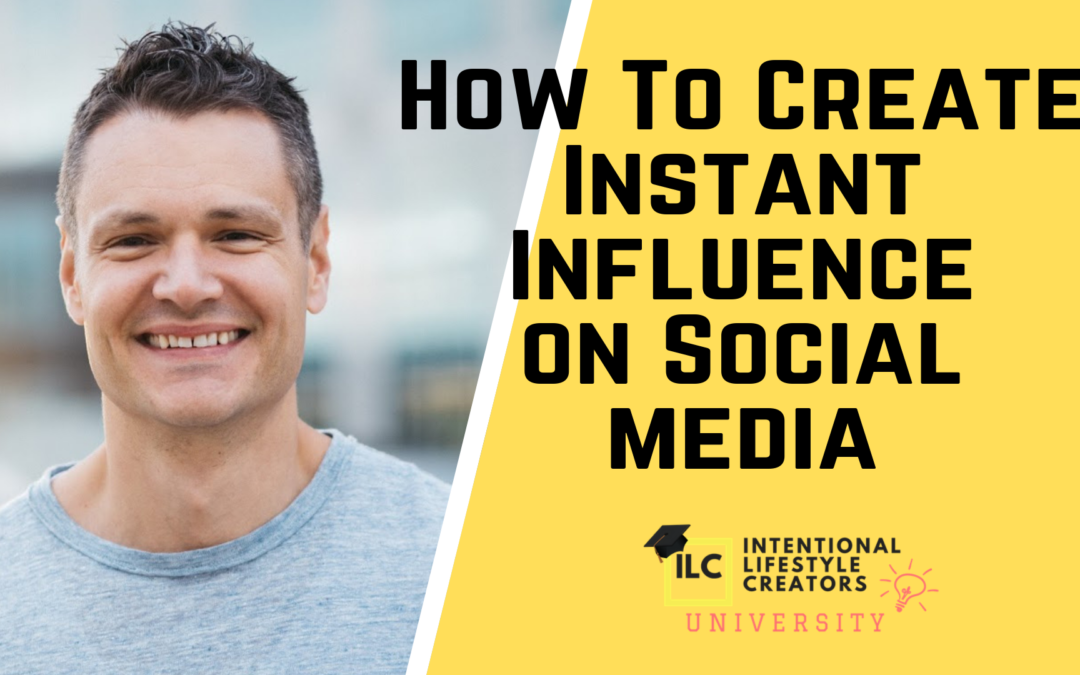 5 Steps To Create Instant Influence On Social Media w/ Justin Prince
